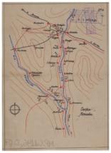 Mapa posiciones Cinca sector Monzón